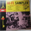Hi Fi Sampler lp by Various Artists