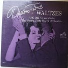 Dream Time Waltzes lp by Reg Owen Vienna Orchestra