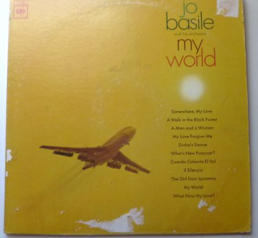My World lp by Jo Basile and his Orchestra cl2631
