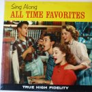 Sing Along All Time Favorites lp M-649 The Hometowners