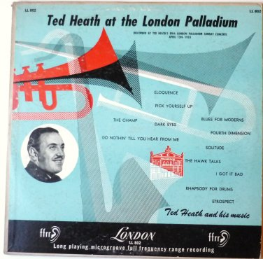 Ted Heath At The London Palladium lp ll802
