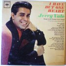 I Have But One Heart lp Jerry Vale Sings Great Italian Love Songs