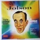 Al Jolson Sung by Norman Brooks lp