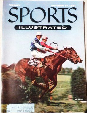 Sports Illustrated - October 18 1954 Queen Elizabeth II Surfing Nashua