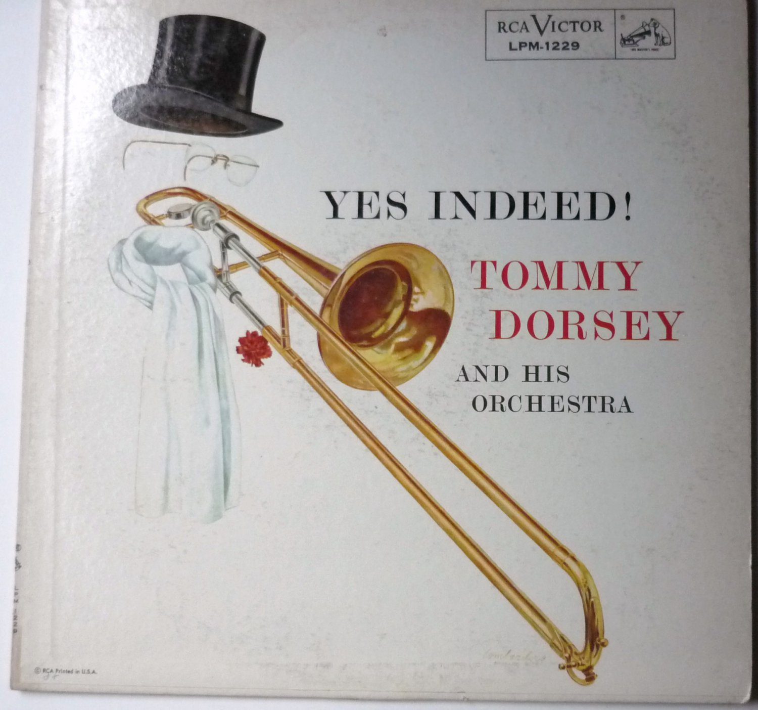 Tommy Dorsey Yes Indeed lp lpm1229