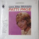 Love After Midnight lp by Patti Page