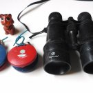 Childs Vintage Toys: Florida Souvenir Castanets, Imperial Binoculars and Lion