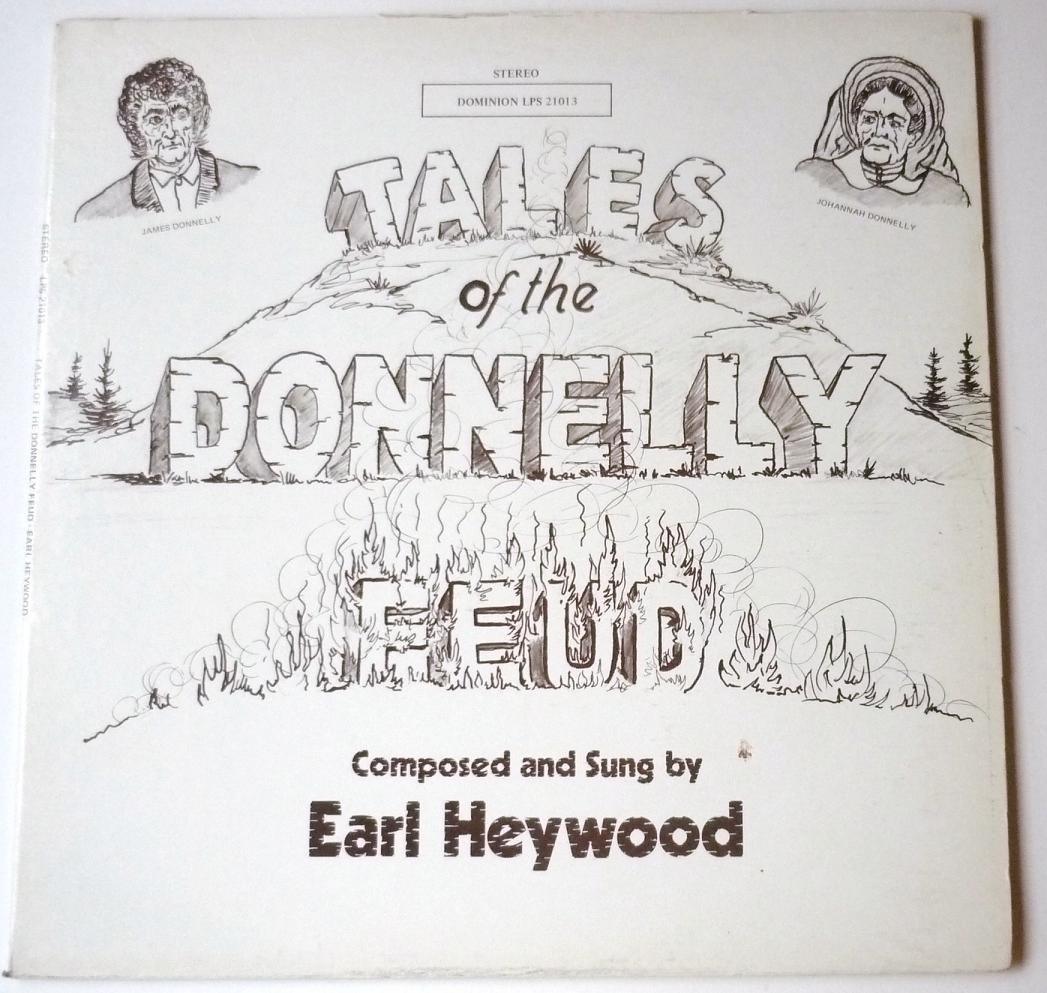 Tales of the Donnelly Feud lp by Earl Heywood LPS21013
