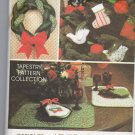 Christmas Tapestry Pattern Collection Sewing McCalls 5380 for Avon