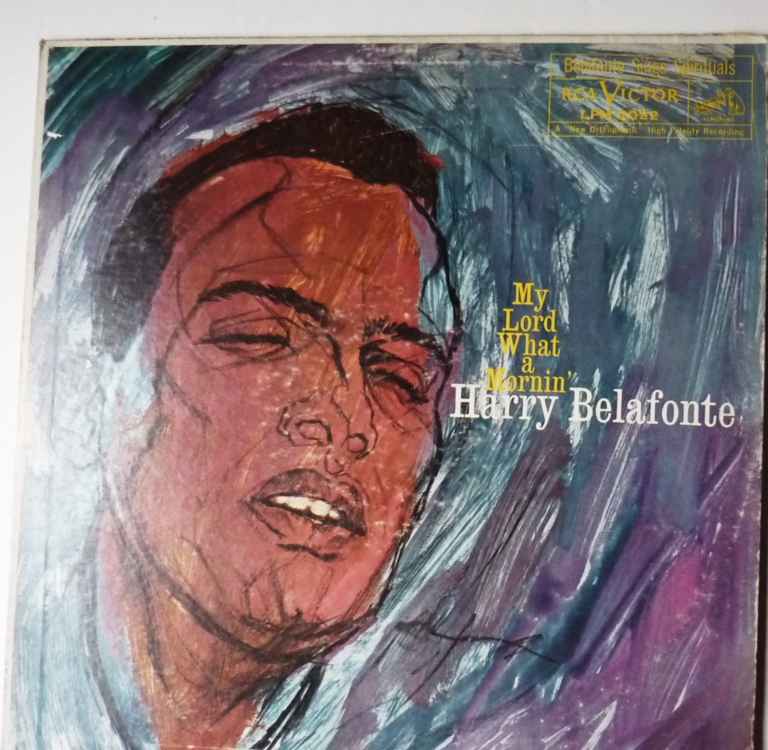 My Lord What A Mornin lp by Harry Belafonte