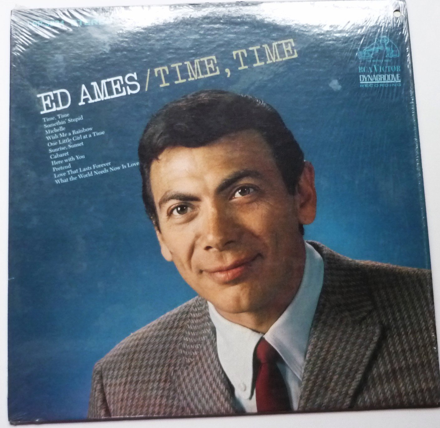 Time Time lp by Ed Ames