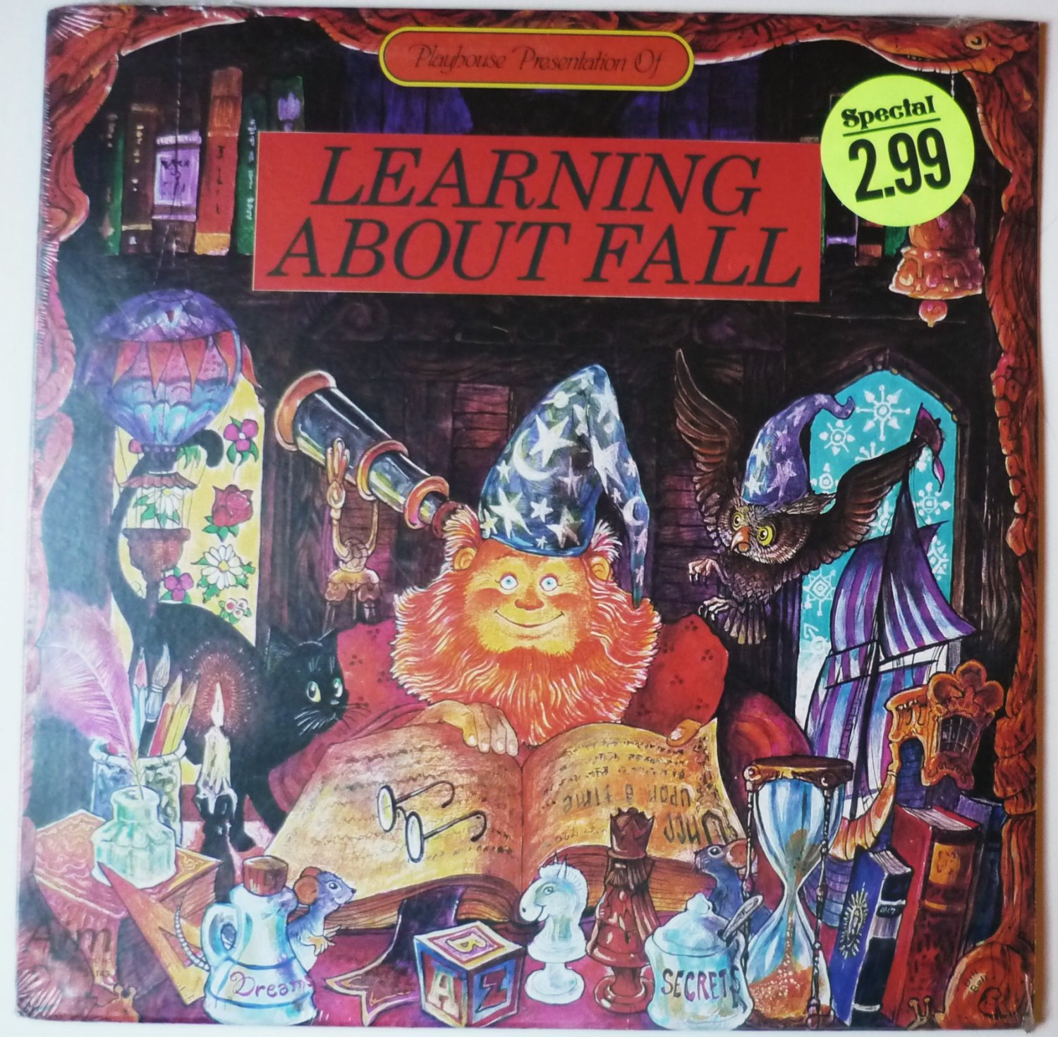 New: Playhouse Presentation of Learning About Fall  lp