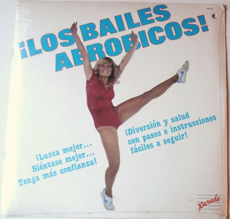 Los Bailes Aerobicos lp - Aerobic in Spanish - Sealed