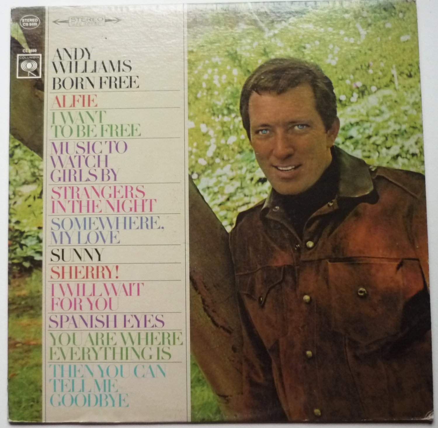 Born Free and Other Songs lp by Andy Williams