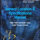 Sensor Location and Specifications Manual 1998-99 Domestic Cars Light Trucks and Vans