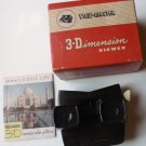 View Master Model E Brown Bakelite w Original Box and Paperwork USA