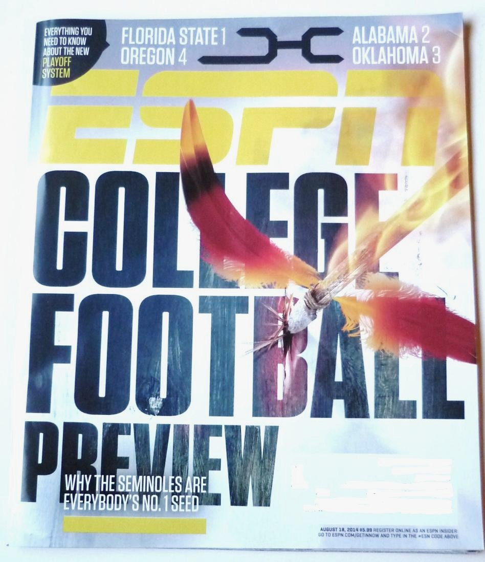 Espn Magazine - Unread - August 18 2014 College Football Preview