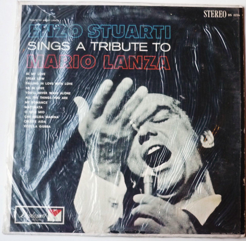 Enzo Stuarti Sings a Tribute To Mario Lanza lp Stereo