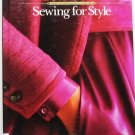 Sewing For Style - A Singer Sewing Reference Library 0865732078