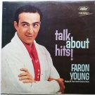 Talk About Hits lp by Faron Young - Rare