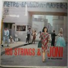 100 Strings and Joni in Hollywood lp e3840 - Rare - Joni James
