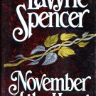 November of the Heart HC Book by LaVyrle Spencer 0399138013