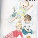 Vintage Kwik Sew Pattern 244 Infant Rompers Onsies Baby Pants TShirt New Sealed