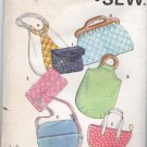 Kwik Sew Pattern 611 Vintage Purses and Bags Unopened Uncut