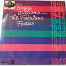 Roger Williams Songs of the Fabulous Forties Volume 1 lp