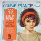 Connie Francis Sings for Mama lp stereo
