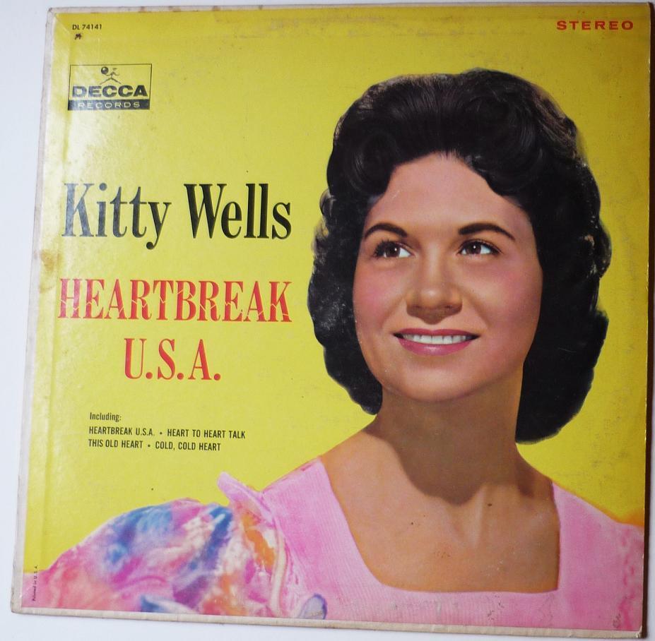 Kitty Wells - A Heartache For A Keepsake