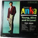 Young Alive and in Love lp by Paul Anka