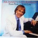 From Paris With Love lp - Richard Clayderman fc 40174