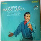 The Best of Mario Lanza lp Stereo