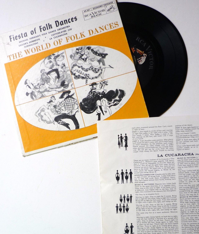 Fiesta of Folk Dances - The World of Folk Dances ep by Michael Herman