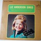 Liz Anderson Sings lp by Liz Anderson