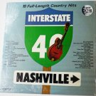 Interstate 40 Nashville lp by Various Artists