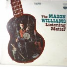 Listening Matter LP by Mason Williams