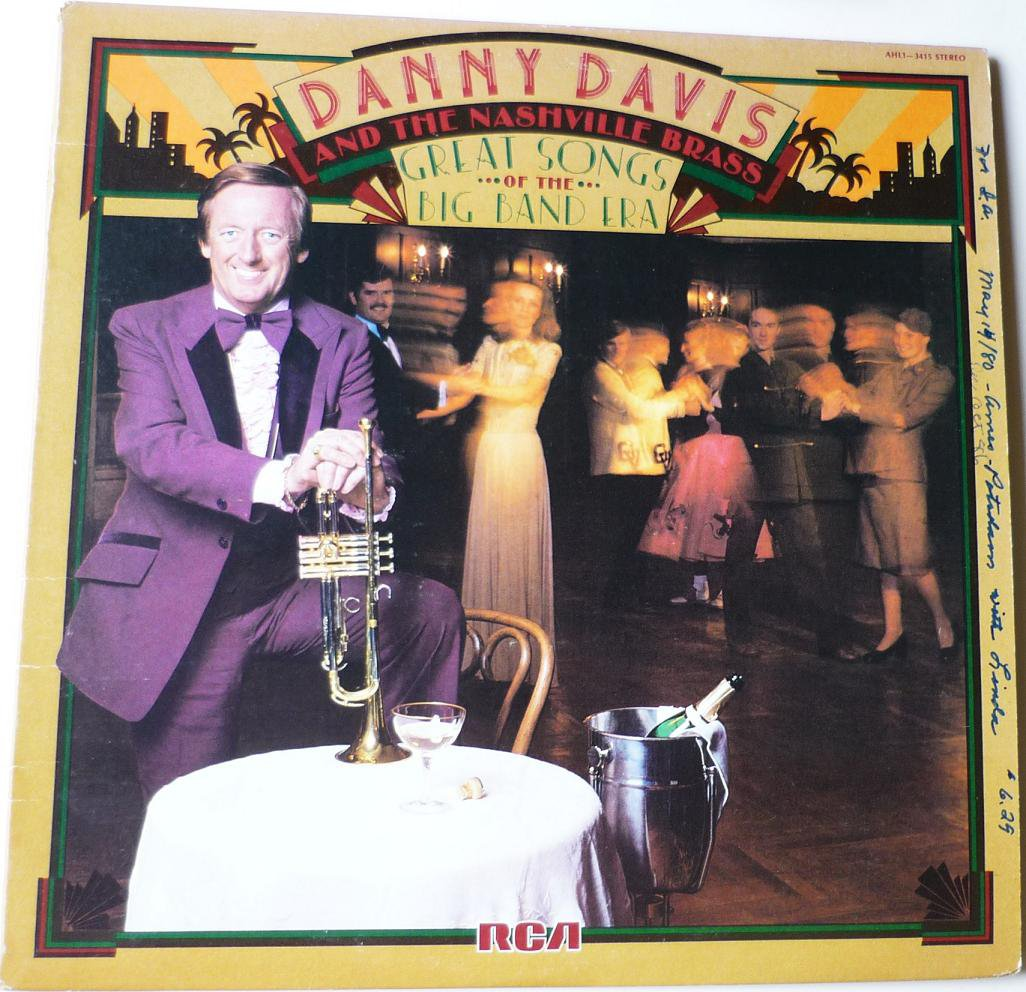 Great Songs of the Big Band Era lp by Danny Davis