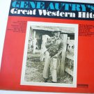 Gene Autrys Great Western Hits lp