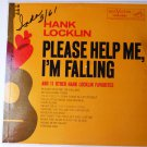 Hank Locklin lp Please Help Me Im Falling