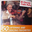 50 Listening and Dancing Favorites Al Chernys Fiddle Party lp