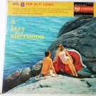 A Lazy Afternoon Vol 8 lp by Malcolm Lockyer
