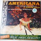 Americana The Unforgettable Music of Stephen Foster lp by Jay Gordon