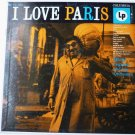 Michel Legrand and His Orchestra lp I Love Paris
