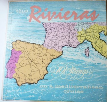The Rivieras On A Mediterranean Cruise lp 101 Strings