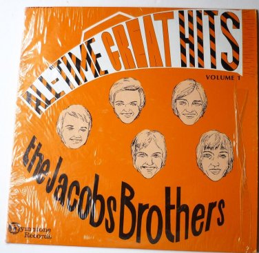 All-Time Great Hits Volume 1 lp by The Jacobs Brothers