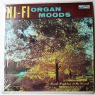 Hi Fi Organ Moods lp by Frank Wrightson at the console