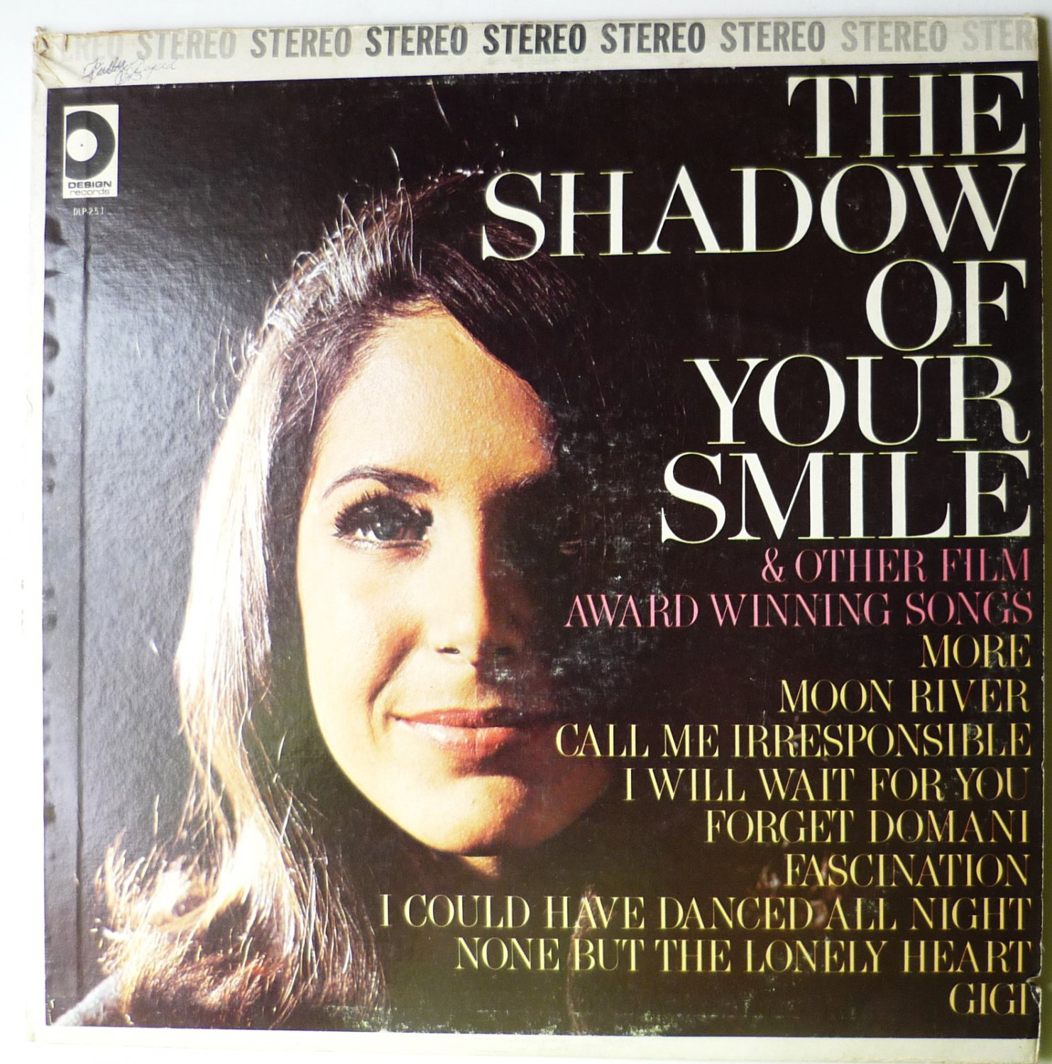 the shadow of your smile amp other film award winning songs lp