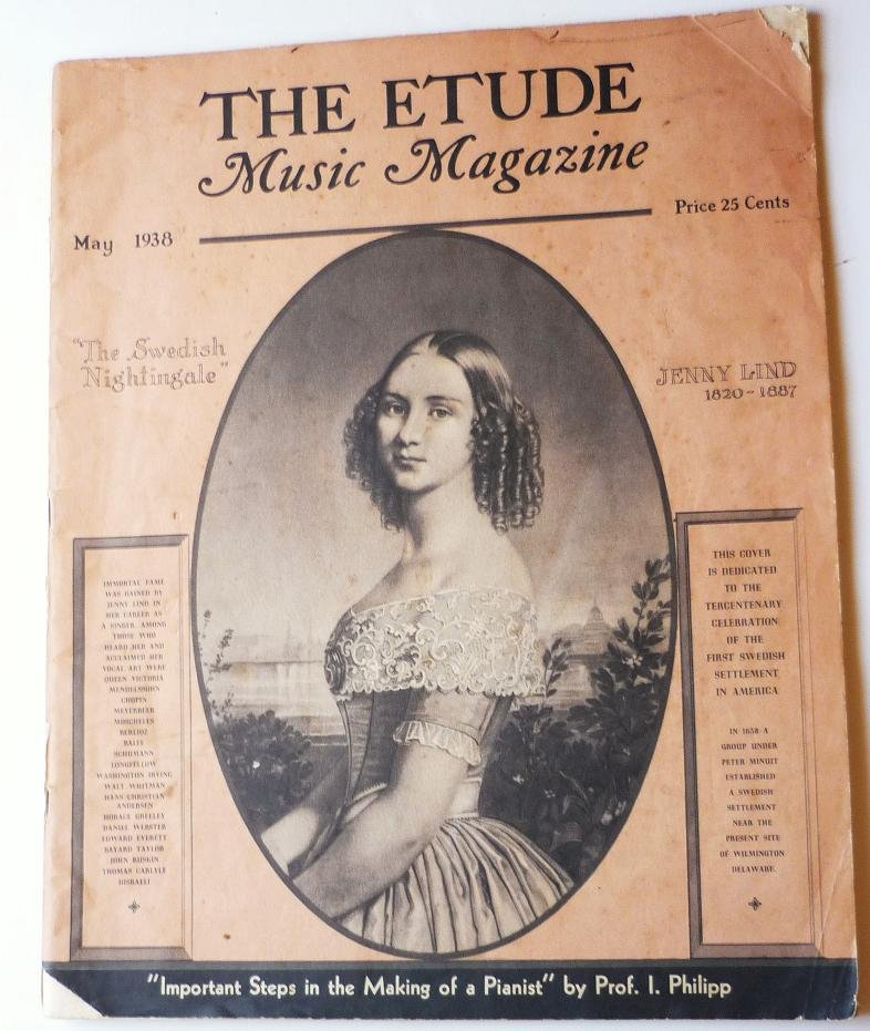 The Etude Music Magazine May 1938